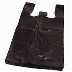 BLACK SHOPPING BAGS