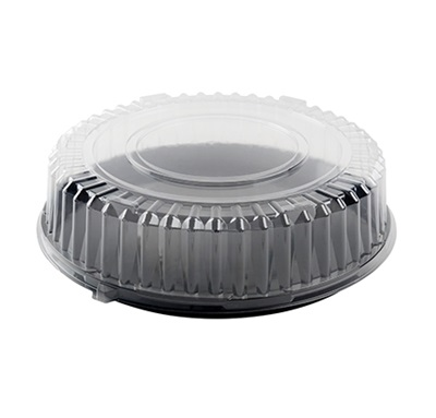 "14"" Clear Round Dome Lid 25/CS Fineline 9401-L"