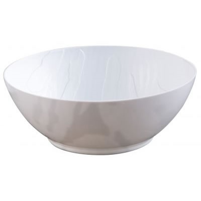 Mahogany Soup Bowl White 12/10 CS (3763)