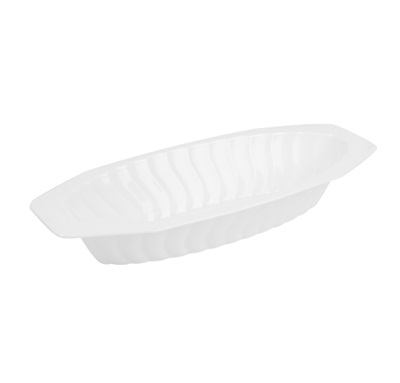 Serving Boat 15 Oz White 25/12 CS Fineline 215-WH