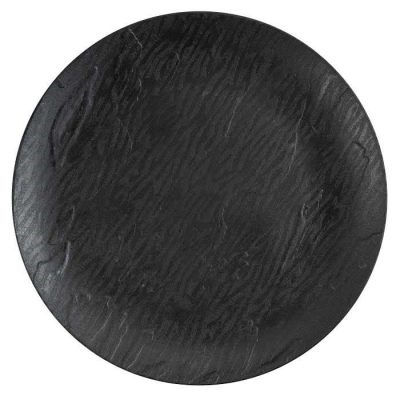 "Mahogany 10"" Black Plate 12/10 CS (3756)"