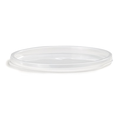 Clear Round Soft Lids For 8-16-32 Oz Container 500/CS HomeFresh Deli