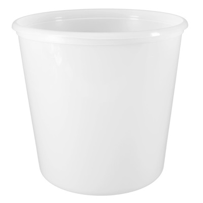 168 Oz Container Natural Hdpe 100/CS