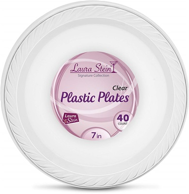 "7"" Clear Plate Signature Collection 12/40 CT"