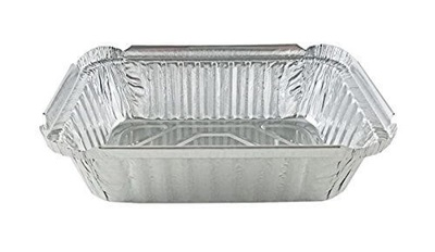 Oblong 1 1/2 lb Foil Pan 500/Case